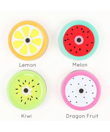 Tapas de frutas: Pack de 4 uds.