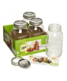 Ball Mason Jar de 32 oz (945 ML) en cajas de 4 Uds